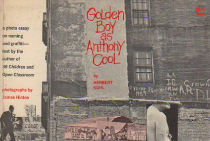 Anthony as boy cool essay golden graffiti naming photo